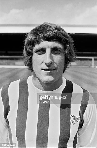 Footballer Tony Brown of West Bromwich Albion FC UK 20th July 1971