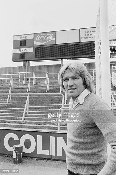 Footballer Tony Currie of Queens Park Rangers pictured at the Loftus Road ground in Shepherd's Bush London on 17th August 1979