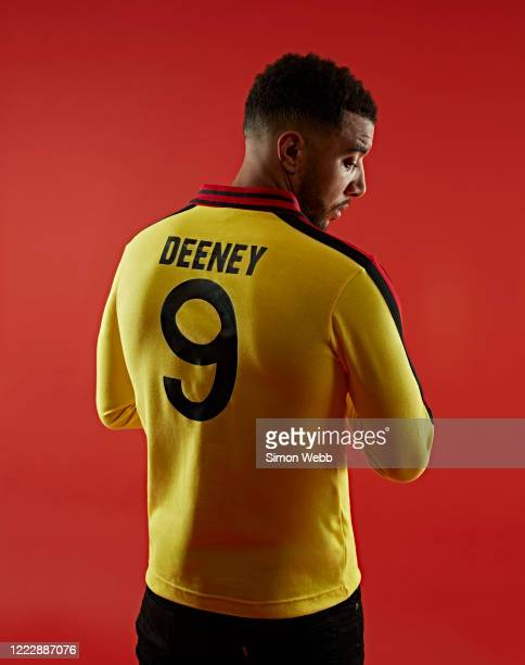 Footballer Troy Deeney is photographed for GQ magazine on May 2, 2019 in London, England.