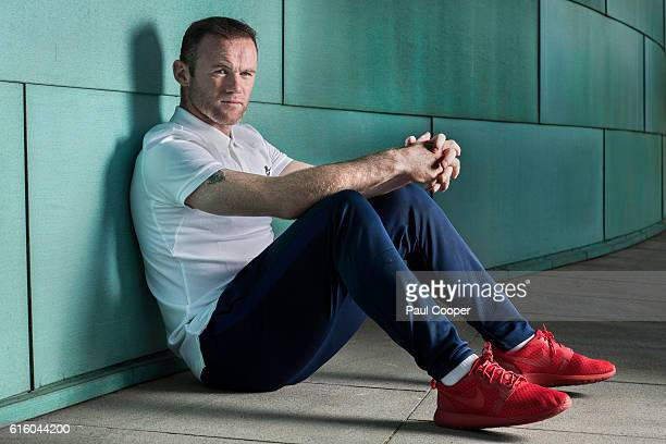 Footballer Wayne Rooney is photographed for the Metro on October 6 2016 in Manchester England
