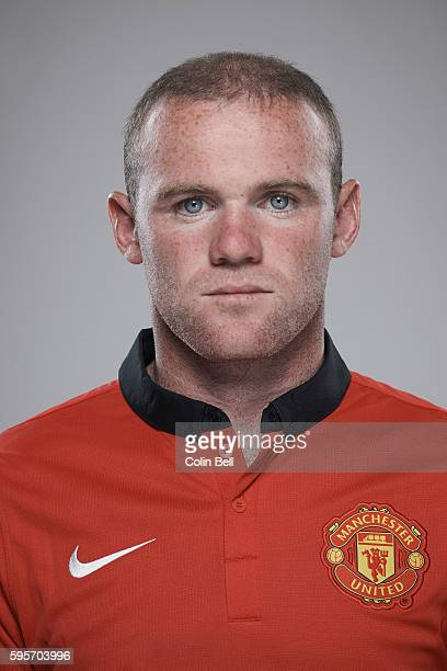 Footballer Wayne Rooney is photographed on August 8 2013 in Manchester England