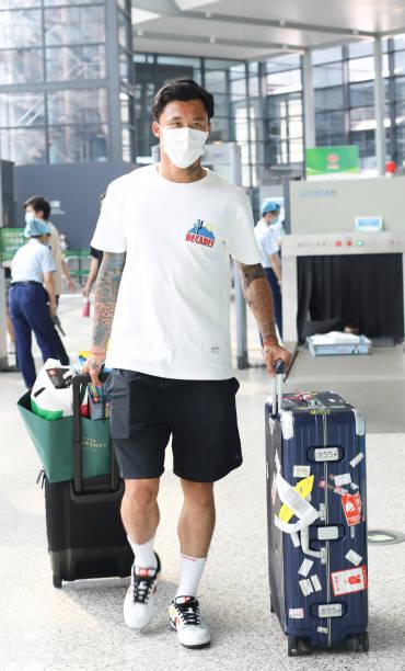 CHN: Aloisio dos Santos Goncalves Sightings In Shanghai