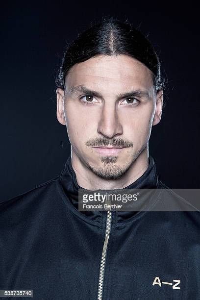 Footballer Zlatan Ibrahimovic is photographed for Self Assignment on June 7 2016 in Paris France Mendatory credit AZ