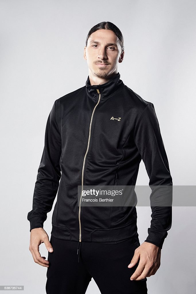 Footballer Zlatan Ibrahimovic is photographed for Self Assignment on June 7, 2016 in Paris, France. Mendatory credit: A-Z.