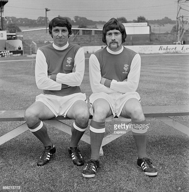 Footballers Graham Taylor and Dave Smith of Lincoln City FC UK 19th August 1971