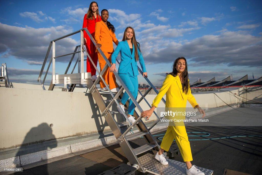 PSG Womens Football team, Paris Match Issue 3684, December 18, 2019 : News Photo