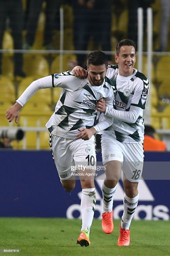 Fenerbahce v Atiker Konyaspor - Turkish Spor Toto Super Lig : News Photo
