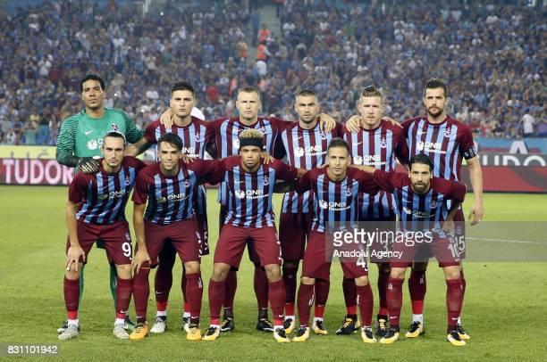 Footballers of Trabzonspor Olcay Sahan Silva Pereira Bongonda Emmanuel Mas Yusuf Yazici Esteban Alvarado Olcay Sahan Jan Durica Burak Yilmaz Jurac...