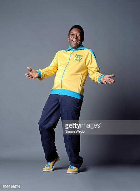 Footballing legend Pele is photographed on June 8, 2006 in London, England.
