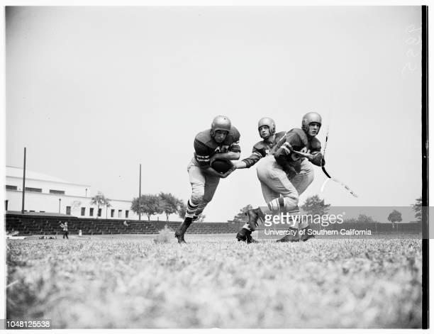 FootballLoyola Marymount University 5 September 1951 Dan SeivertMaury NippErnie CheathamBill McKernanDon KlostermanBob BurtonLos Angeles California...