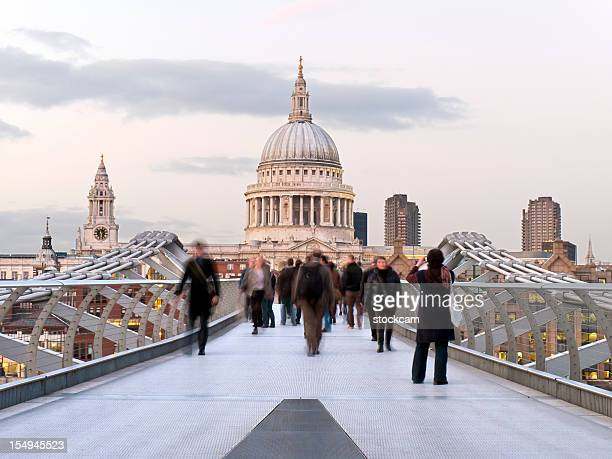 Footbridge and St. Paul's Cathedral