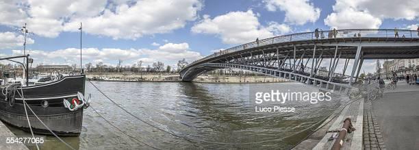 Footbridge of Solferino, Quai de Seine, France