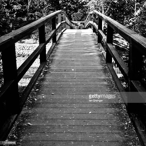 footbridge - ian grainger stock pictures, royalty-free photos & images
