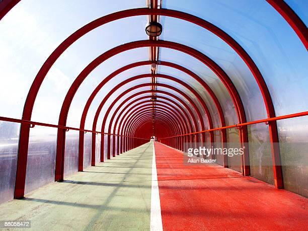 footbridge - glasgow scotland stock pictures, royalty-free photos & images