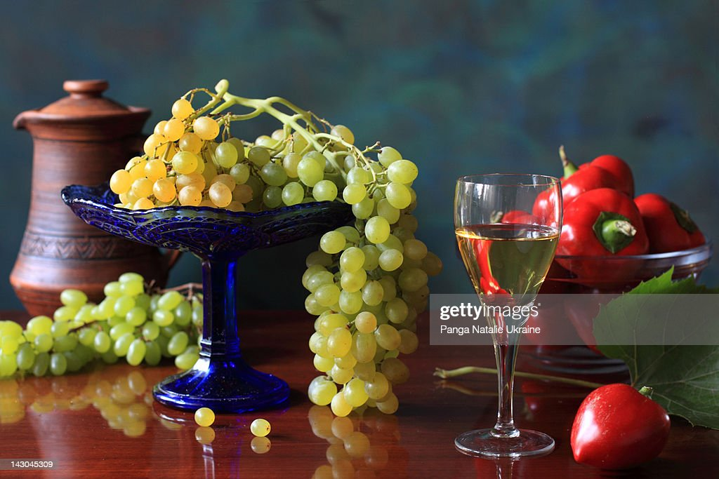 Footed Glass Vase Stock Photo Getty Images