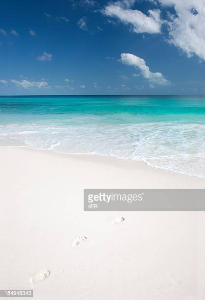 Empreintes dans le sable (XXXL