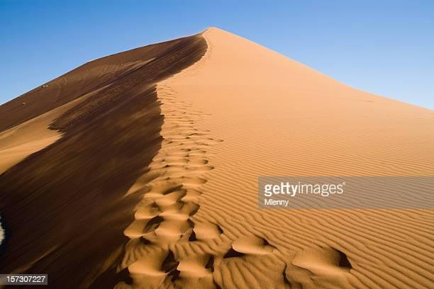 fußspuren im sand - mlenny stock-fotos und bilder