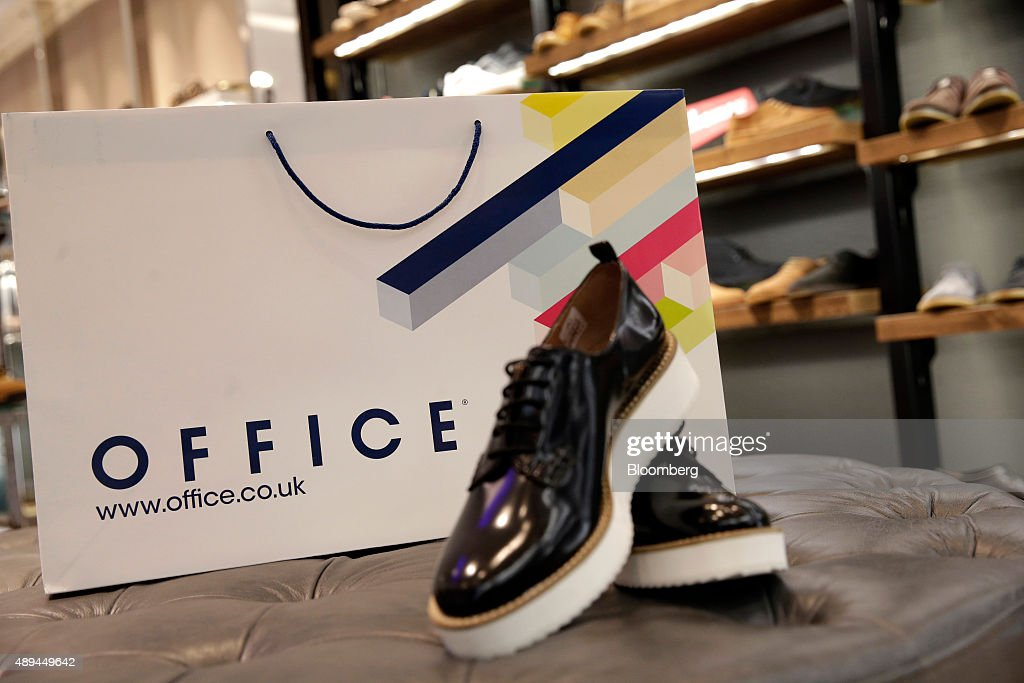 Charmant Footwear Sits In Front Of Bag Inside An Office Fashion Footwear Store,  Operated By Office