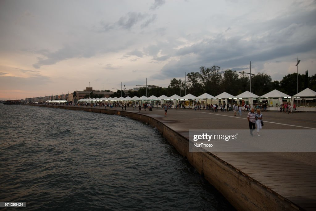 For 36th year the Book Festival take place in the area of White Tower of Thessaloniki in Greece.
