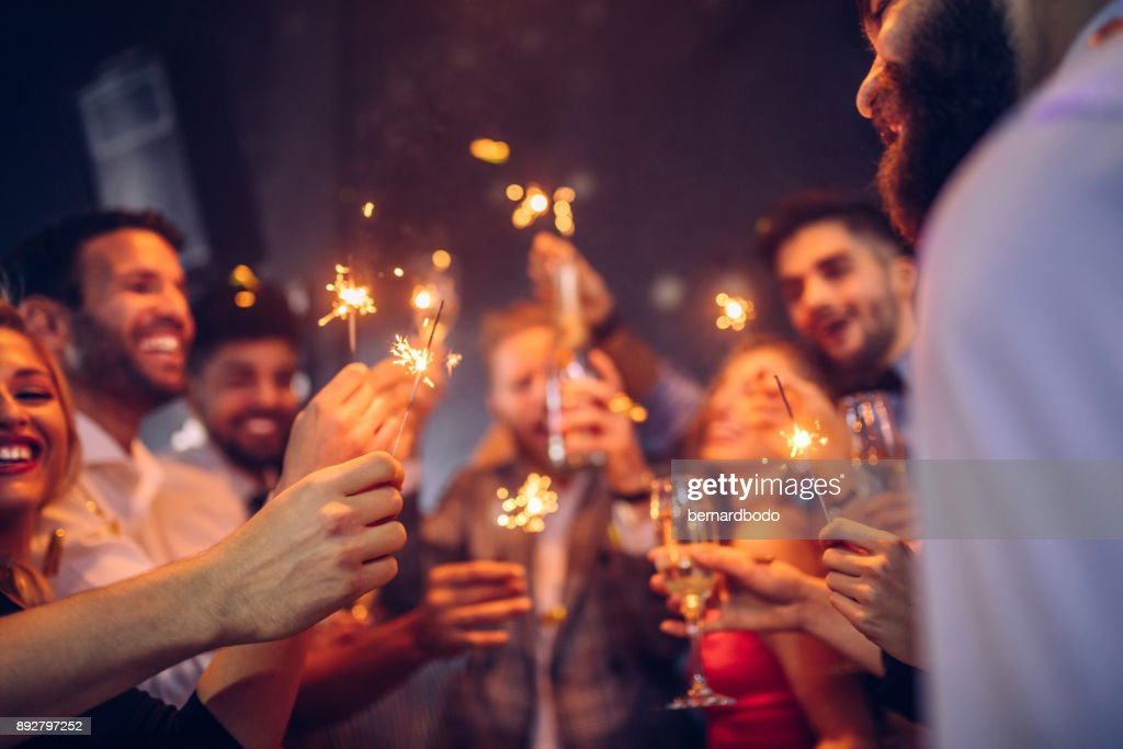 For a bright New Year ! : Stock Photo