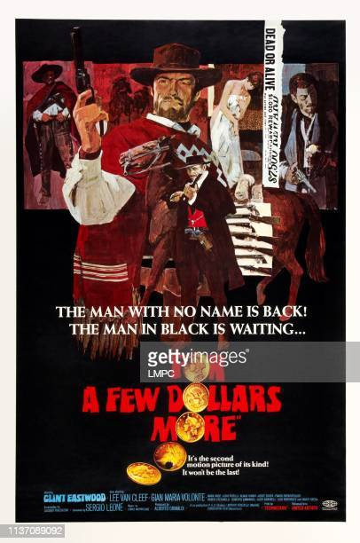 For A Few Dollars More, poster, , Lee Van Cleef , Clint Eastwood , Gian Maria Volonte, 1965.