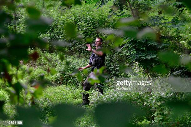 For a fifth day officials search after residents spotted a black bear in the Roxborough neighborhood of Philadelphia PA on June 13 2019 While rare...