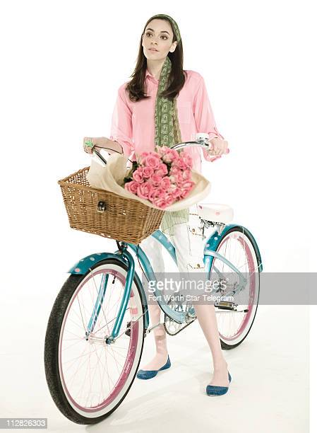 For a whimsical way to roll hop on this polkadotted turquoise Electra Jenny cruiser with three speeds and a delightful handlebarmounted bell plus a...