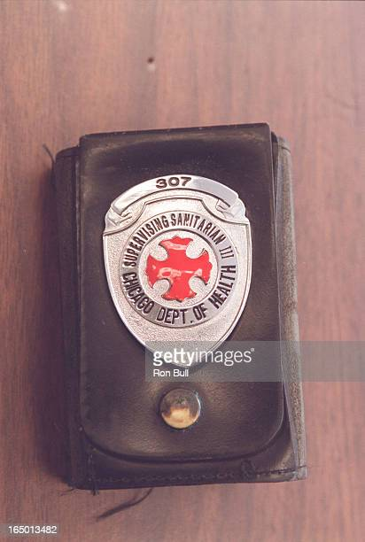 1 for art dept possible use in layout page makeup health inspectors badge LA and Chicago in chicago badge REMOVE NUMBERS OR CHANGE NUMBERS copies of...