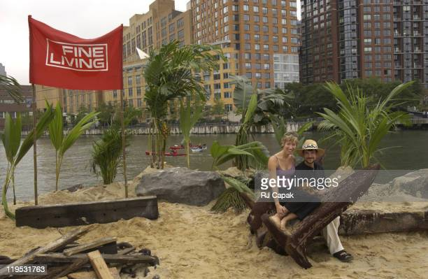 For Columbus Day New Yorkers are discovering their own new world with the mysteriously appearing FINE LIVING Island FINE LIVING adventurers Rob Emily...