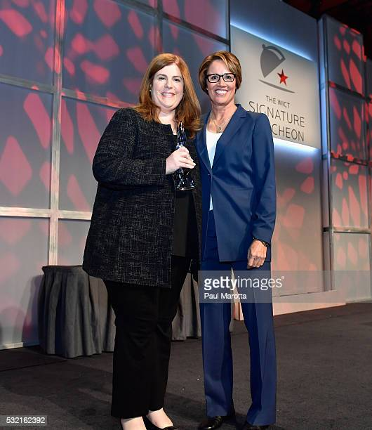EVP for Disney ABC Television Group Media Sales Marketing Rita Ferro receives the PAR Best Companies for Women in Cable Award from NBC Olympic...