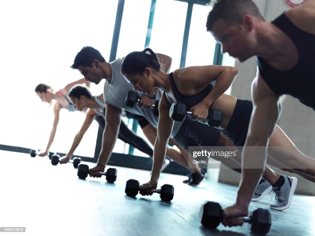 For every rep, there's reward : Stock Photo