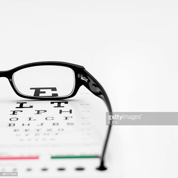 e for eye - eye chart stock pictures, royalty-free photos & images