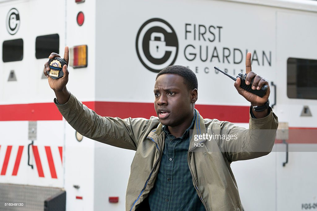 BLUE -- 'For I Have Sinned' Episode 112 -- Pictured: Dayo Okeniyi as Michael Loman --