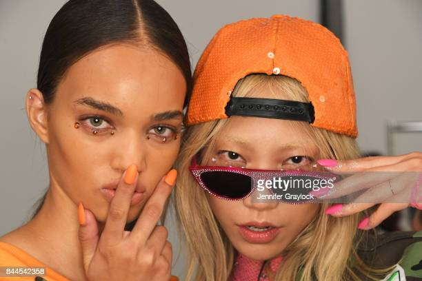 CND for Jeremy Scott fashion show during New York Fashion Week The Shows at Spring Studios on September 8 2017 in New York City