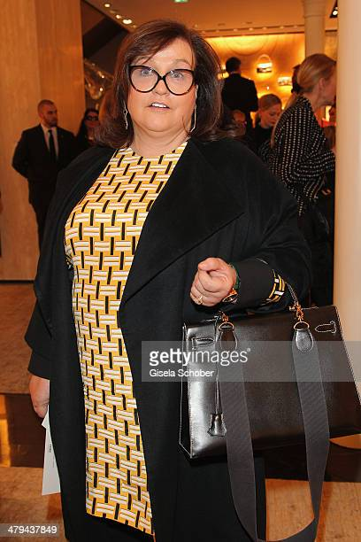 FENDI for Karin Holler attends FENDI boutique opening on March 18 2014 in Munich Germany
