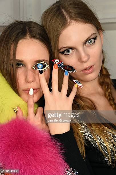 CND for Libertine Fall/Winter 2016 runway at The Gallery at Skylight Clarkson Sq on February 15 2016 in New York City