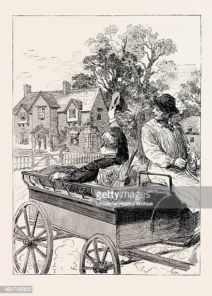 For My Host Speedily Devised The Plan Of Forwarding Me To The Railway Station In A Farm Waggon And I Was Reluctantly Compelled To Bid The Hospitable...