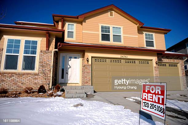 For Rent sign is displayed at the house of Naqib Jaji in Aurora CO Jaji is an uncle of Najibullah Zazi former Denver airport shuttle driver who...