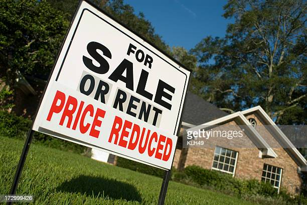 For Sale or Rent Real Estate Sign