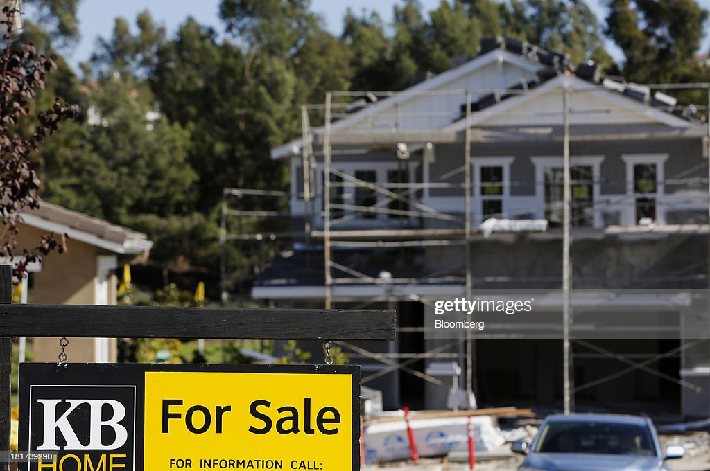 Views Of A KB Home Development As Earnings Beat Estimates : News Photo
