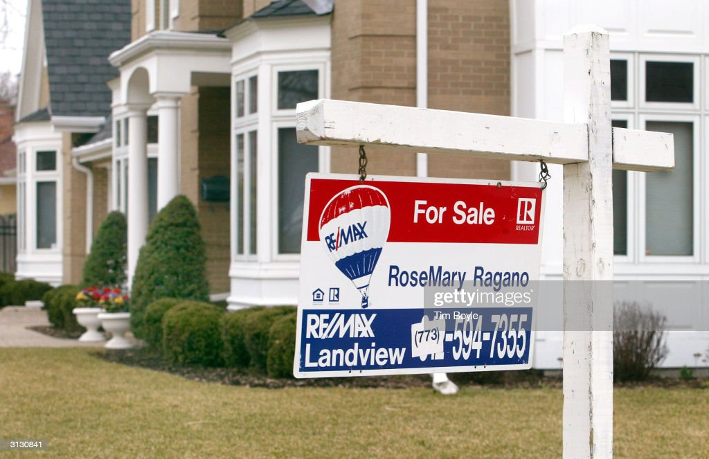 February Housing Sales Report Is Released : News Photo