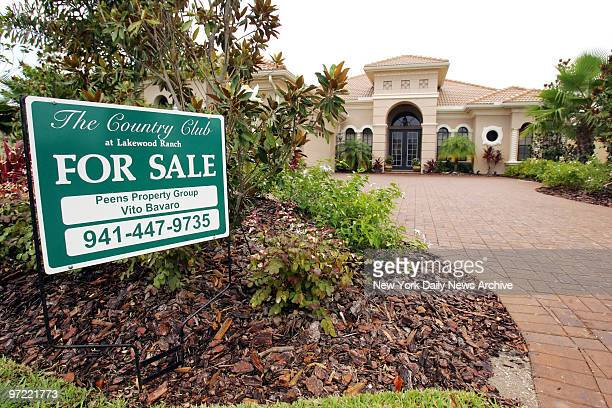 For sale sign is seen in front of the home of disgraced NBA referee Tim Donaghy in Bradenton, Fla. Donaghy is alleged to have placed thousands of...