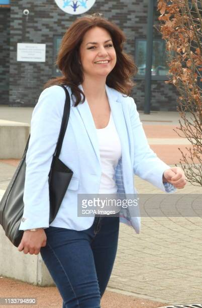 MP for South Cambridgeshire Heidi Allen seen during a Public Meeting in her constituency at Cambourne Village College The former Conservative MP who...