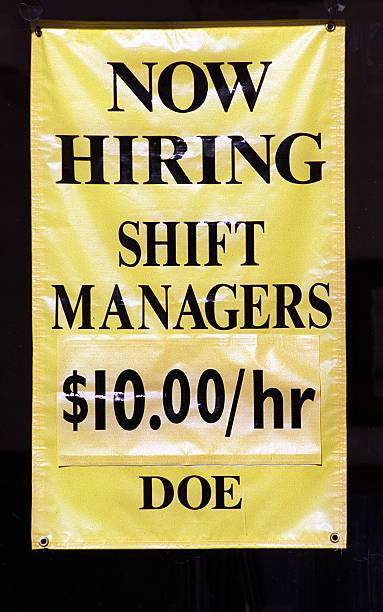 for sunday biz cover story on full employment signs help wanted