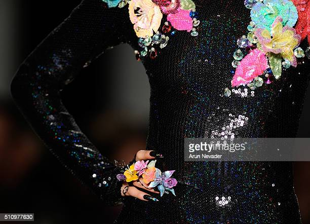 CND for The Blonds Fall/Winter 2016 runway at Milk Studios on February 17 2016 in New York City