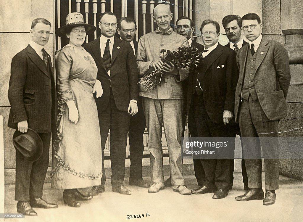 Socialist Eugene V. Debs : News Photo