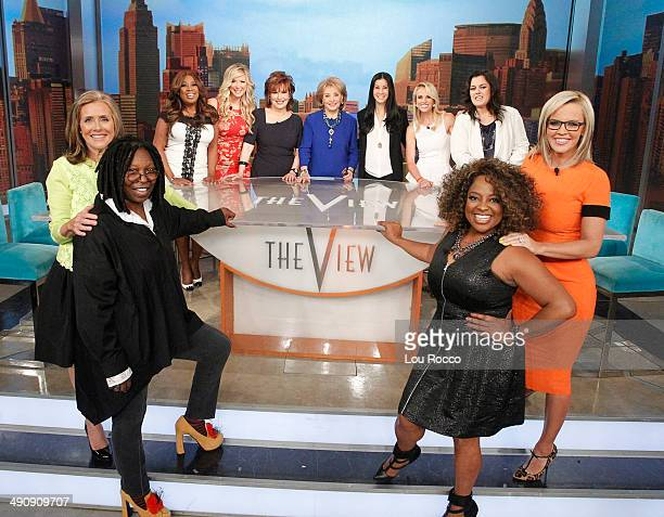 THE VIEW 5/15/14 For the first time in television history all 11 cohosts of Walt Disney Television via Getty Images's The View present and past...