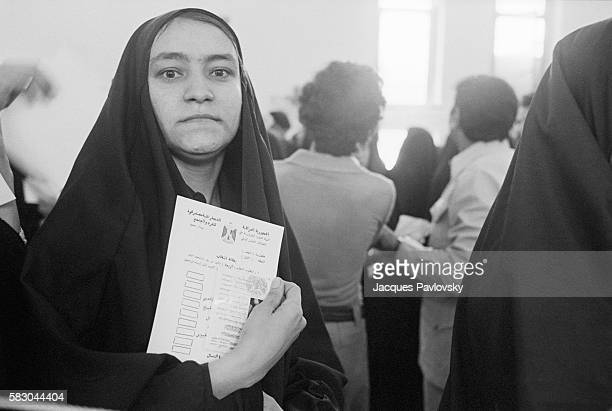 For the first time since 1956 Iraqis are able to cast their votes to elect ministers in the national parliament while women get to exercise their...