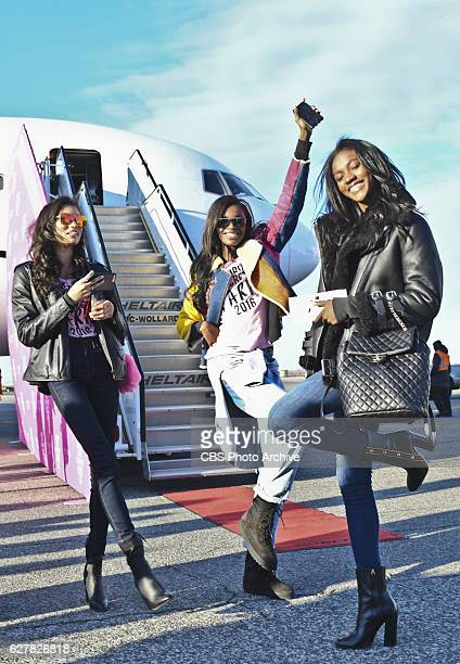 For the first time the Victoria's Secret Angels are filmed in Paris for THE VICTORIA'S SECRET FASHION SHOW broadcast Monday Dec 5 on the CBS...