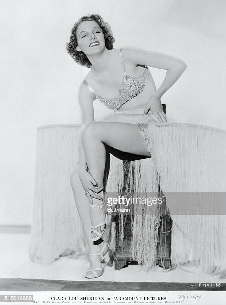 For the first two years of her film career Ann Sheridan used her given name Clara Lou Sheridan